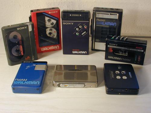 Sony Walkman típusok