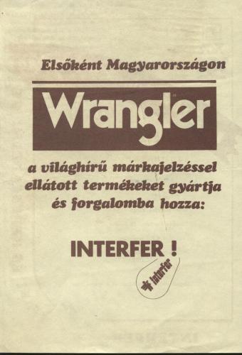 Wrangler reklám 2