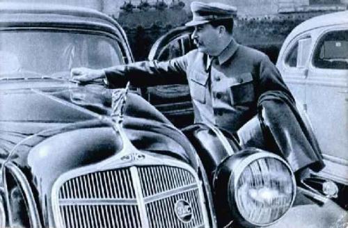 ZIS-101 autó / Sztálin