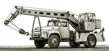 Zil-130 Mobil daru modell