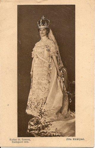Zita királyné koronázása