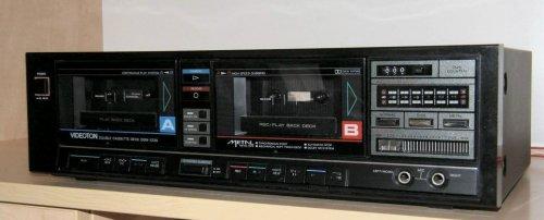 Videoton Kétkazettás deck GSW-5720