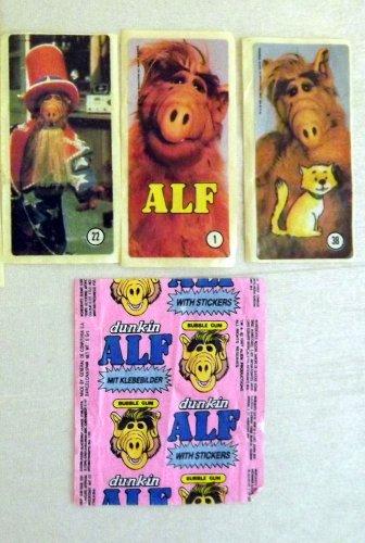 Alf rágópapír és matrica