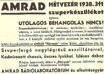 Hétvezér 3+1-es rádió