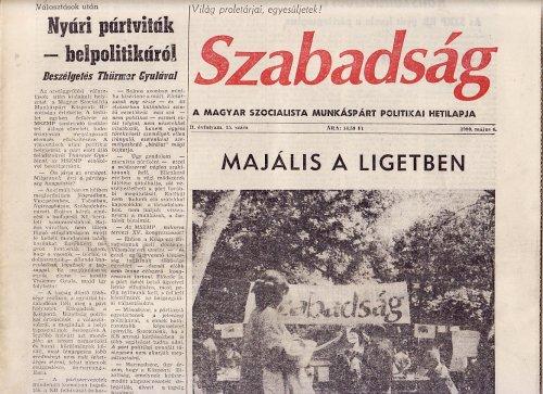 Szabadság hetilap