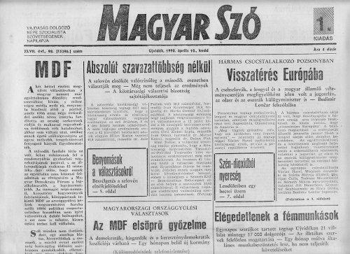 Magyar Szó