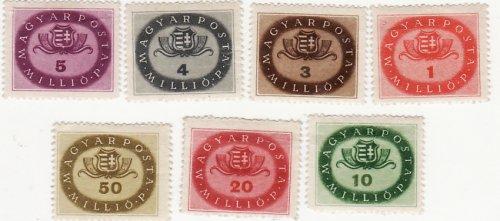 Inflációs bélyegsor