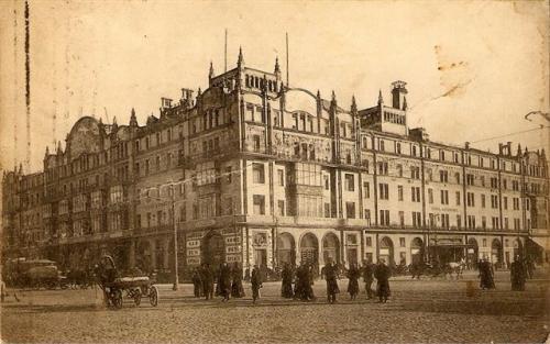Moszkva a cári időkben.