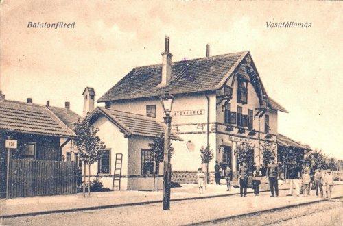 Balatonfüred vasútállomás