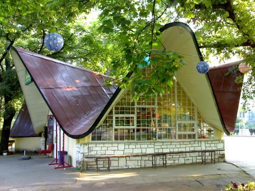 BNV  büfé pavilon a Városligetben (most)