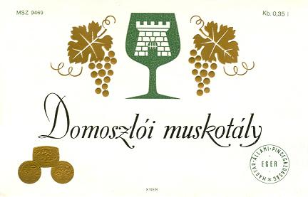 Boroscímke - Domoszlói muskotály