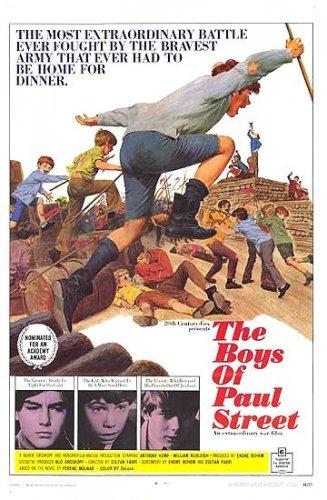 Pál  utcai fiúk amerikai plakátja