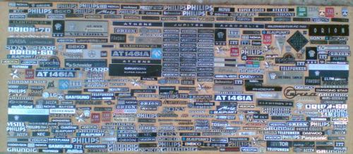 Televízió rádió emblémák