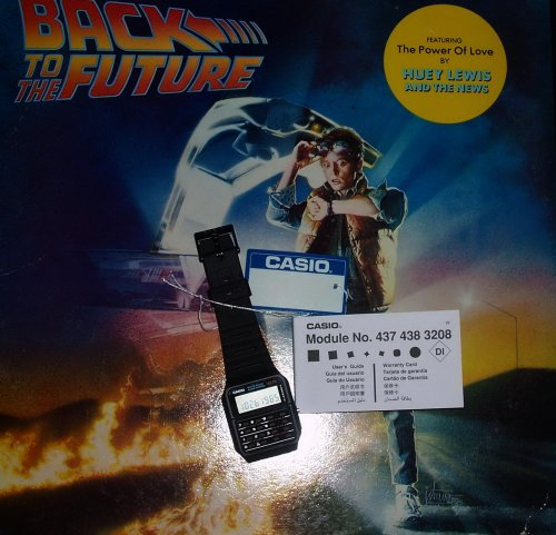 Casio kvarcóra CA-53W - Vissza a jövőbe - Marty órája