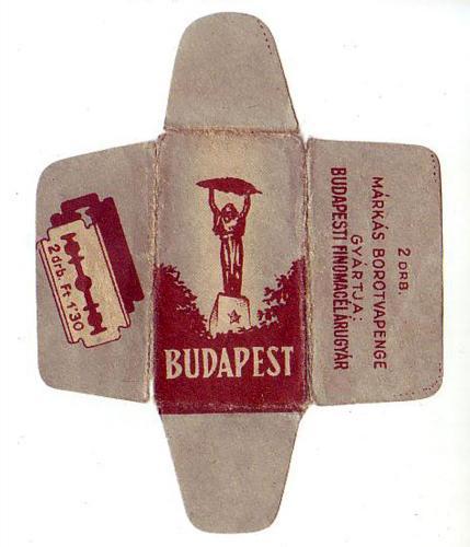 Borotvapenge Budapest