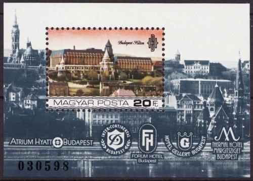 Budapest szálloda bélyeg