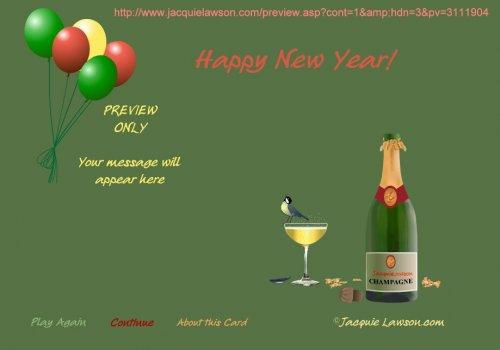 Boldog új évet - BUÉK!