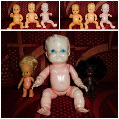 Műanyag babák