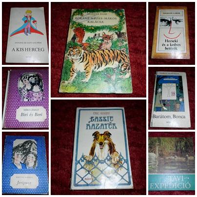 Gyerekkönyvek 80-as évek