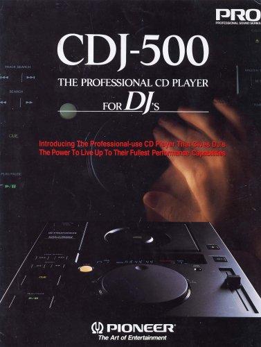 Pioneer CDJ-500 diszkós lemezjátszó
