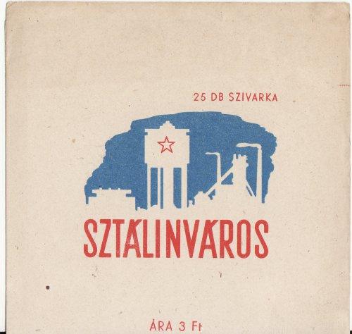 Sztálinváros cigaretta