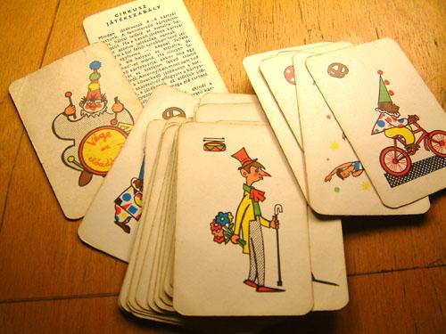 Cirkusz kártyajáték
