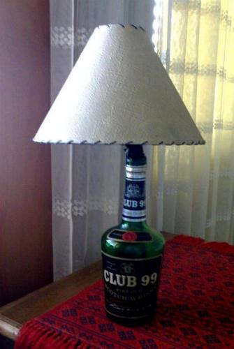 Club-99 Brandy üveg lámpa