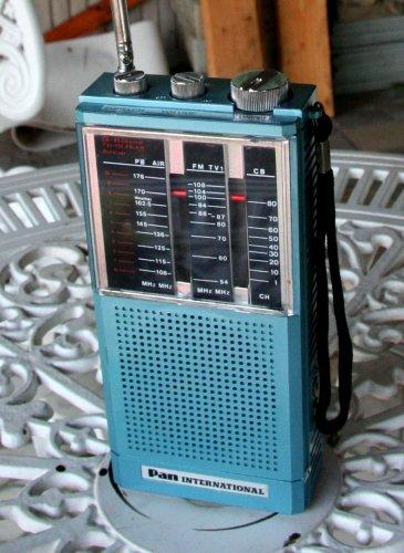 Pan International combicontroll V rádió