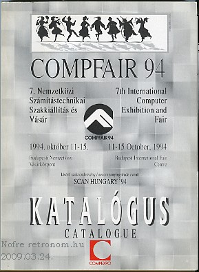 Compfair katalógus 1994