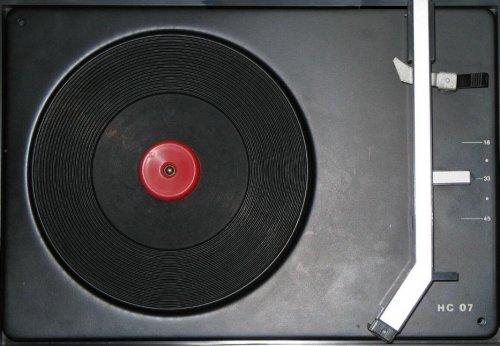 Tesla HC-07 lemezjátszó sasszi