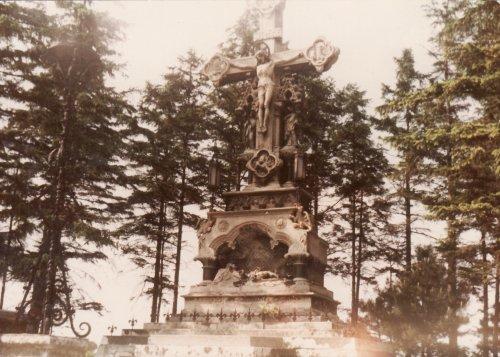 Feszület a soproni temetőben