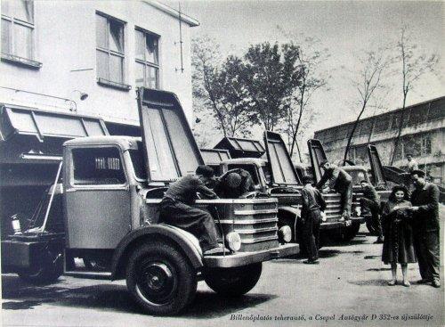 Csepel D-352 teherautó