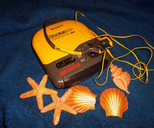 Sony Discman - D-421SP vizálló sport
