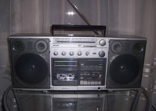 Philips D8634 MkII Gettoblaster Boombox