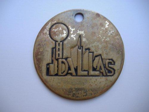 Dallas kulcstartó