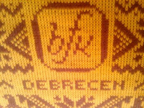 Debrecen BFK terítő