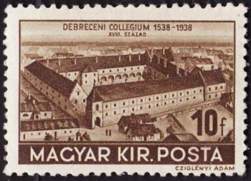 Debreceni kollégium bélyeg