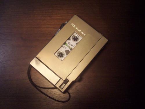 Dictaphone diktafon