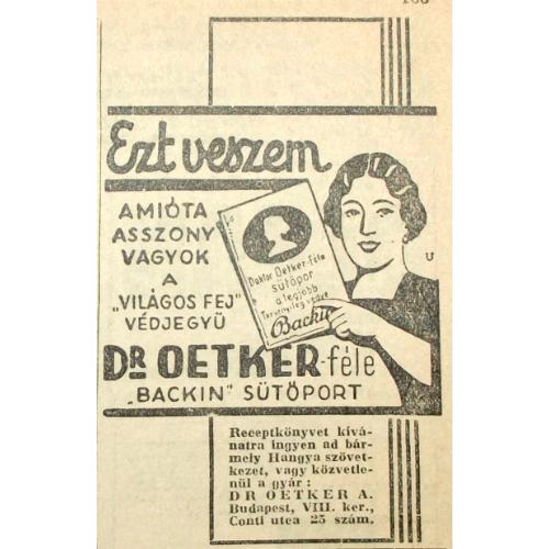 Dr. OETKER sütőpor