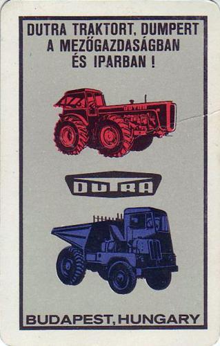 Dutra traktor és dömper