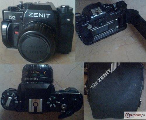 Zenit fényképezőgép 122