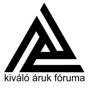 Kiváló Áruk Fóruma embléma