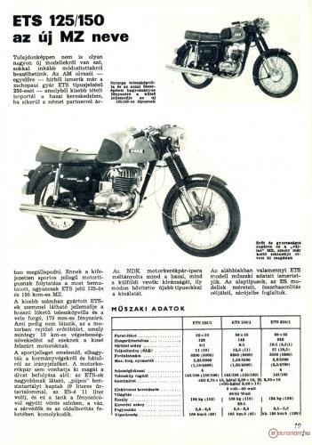 MZ ETS 125/150