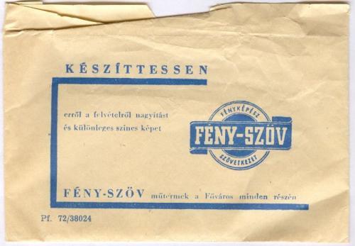 FÉNY-SZÖV papírzacskó