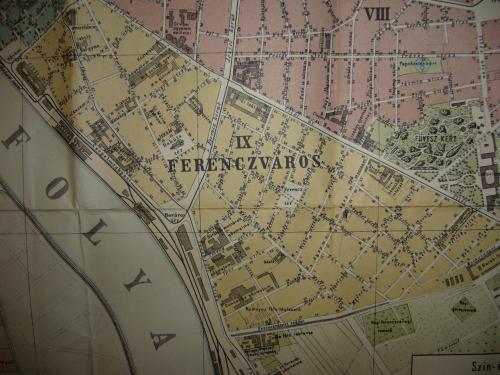 Budapest Ferencváros térkép