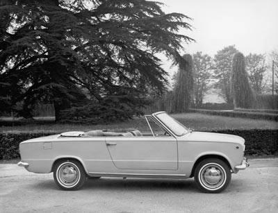 """Fiat 124 """"hardtop"""" cabriolet"""