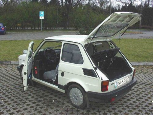 Polski Fiat 126 BIS