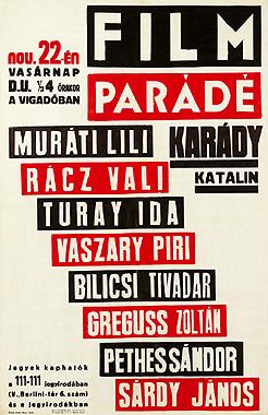 Filmparádé    plakát