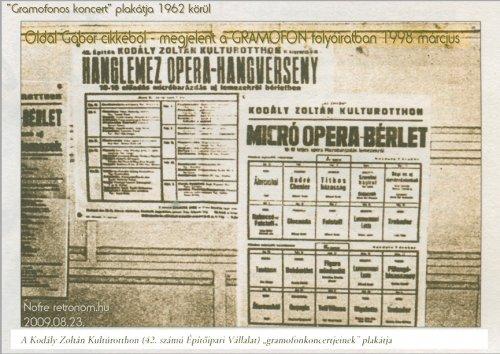 gramofon koncert plakát