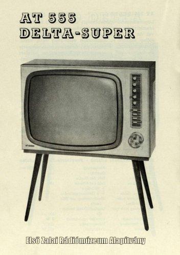 Orion Delta Super televízió - AT 555